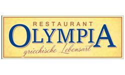 das Logo vom Restaurant Olmpia