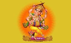 zeigt das Logo vom Restaurant Ganesha