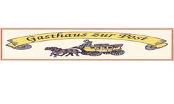 zeigt das Logo vom Gasthaus zur Post
